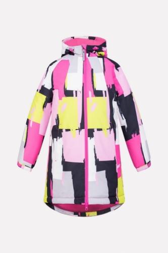 Куртка для девочки Crockid ВК 38038/н/1 ГР размер 122-128