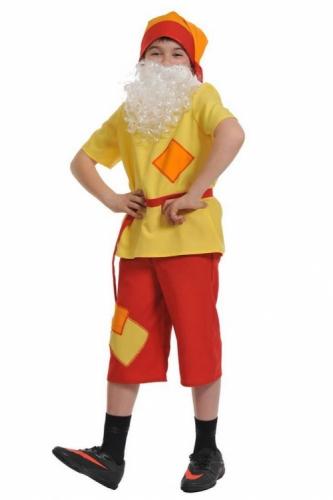 Карнавальный костюм Гном Скромник, 7-8 лет