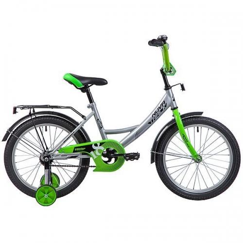 Велосипед Novatrack Vector, серебристый, рама 18