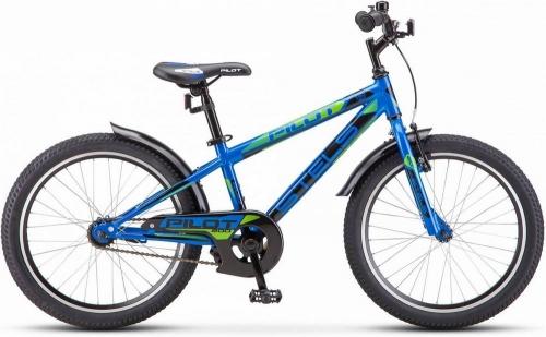 Велосипед Stels Pilot-200 Gent, синий, рама 20