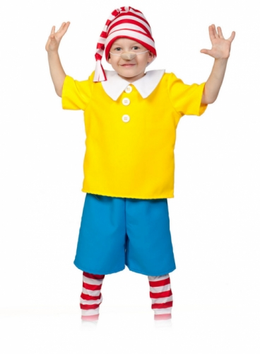 Карнавальный костюм Буратино, 7-9 лет