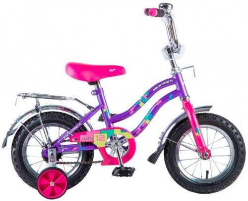 Велосипед Novatrack Tetris, фиолетовый, рама 12