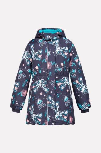 Куртка для девочки Crockid ВК 38044/н/1 ГР размер 134-140