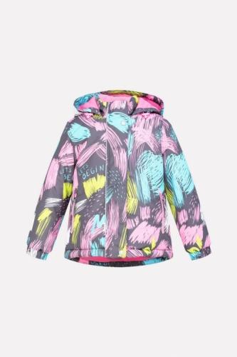 Куртка для девочки Crockid ВК 38033/н/2 ГР размер 98-104