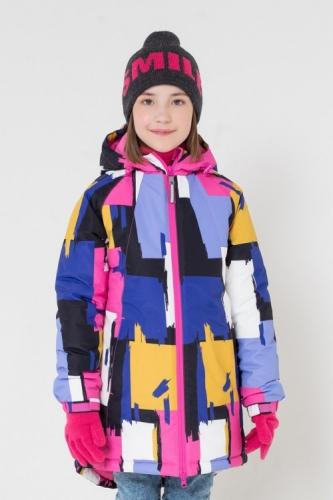 Куртка для девочки Crockid ВК 38038/н/2 ГР размер 140-146