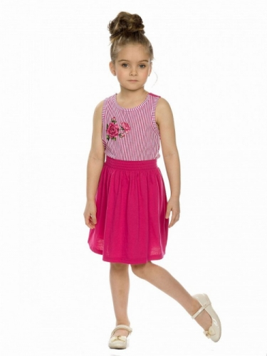 Платье для девочки малиновое,
