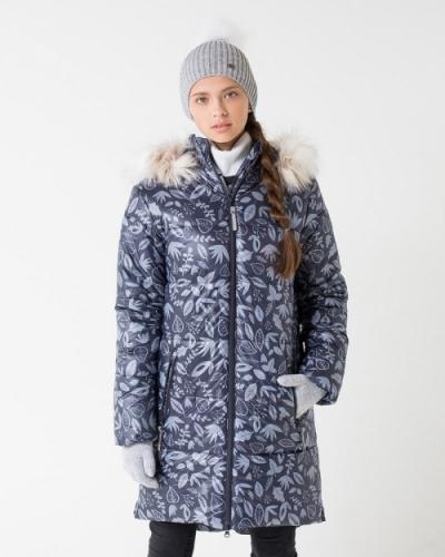 Куртка для девочки Crockid ВКБ 38043/н/2 ГР размер 140-146