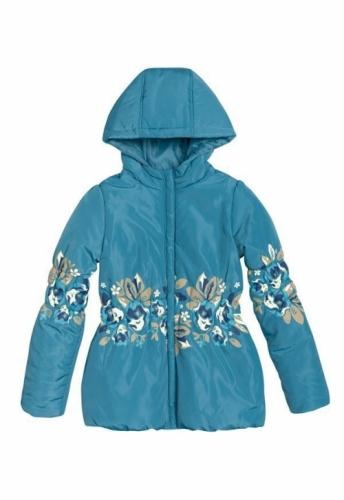 Куртка для девочек, размер 9, весна-осень, синяя Pelican GZWL483