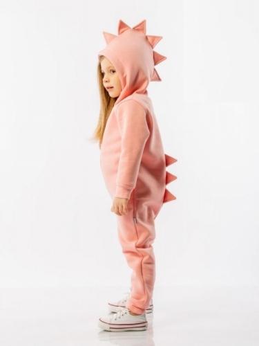 Комбинезон для девочки весна-лето, розовый BODO Диномания, р. 28 (рост 92-98см), 9-50U