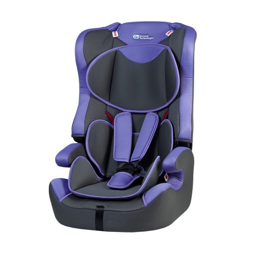 Автокресло General Technologies GT-HB616 1/2/3 violet
