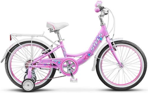 Велосипед Stels Pilot-230 Lady, пурпурный/белый/розовый, рама 20