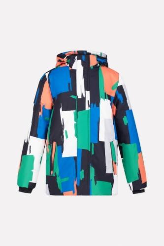 Куртка для мальчика Crockid ВК 36042/н/2 ГР размер 128-134