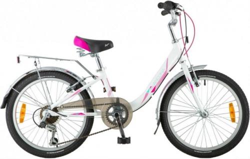 Велосипед Novatrack Ancona, белый, рама 20