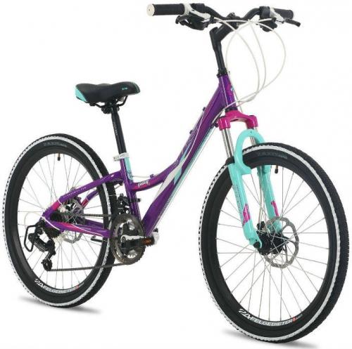 Велосипед Stinger Galaxy D, фиолетовый, рама 24