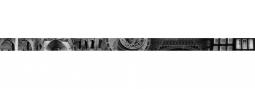Бордюр Golden Tile Absolute Collage черный  Г20351 30х600