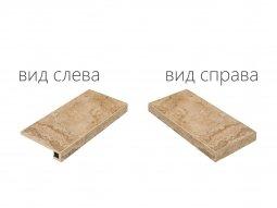 Ступень угловая правая Italon NL-Stone Нат 33x60 паттинированная