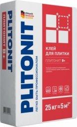 Клей для плитки Plitonit В+ для внутренних/наружных работ 25кг