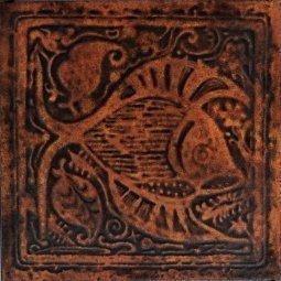 Плитка для пола Сокол Родос RDS411-2 коричневая матовая 33х33
