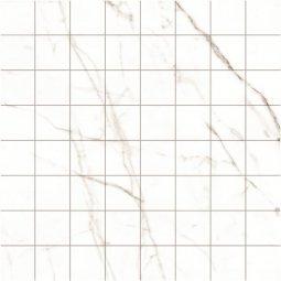 Мозаика Kerranova Black&White полированный белый 30x30