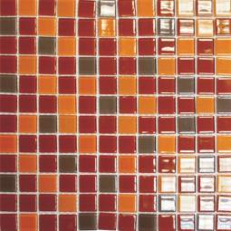 Мозаика Elada Crystal R кофейно-карамельный 32,7x32,7