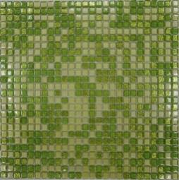 Мозаика Bonаparte Fine Green зеленая глянцевая 30x30