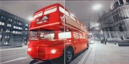 Панно Lasselsberger Лондон 1608-6607 40x80