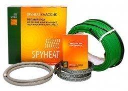 Теплый пол на основе двухжильного экранированного кабеля SpyHeat SHD-15-600
