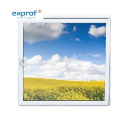 Окно ПВХ Exprof 600х600 мм одностворчатое О 1 стеклопакет