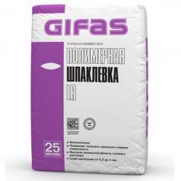 Шпатлевка Gifas ЛР полимерная 25 кг