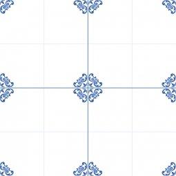Плитка для пола  Сокол Катарина KTR3 орнамент полуматовая 44х44