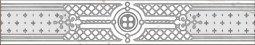 Декор Grasaro Classic marble Frieze GT-270/f02 70x400
