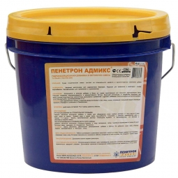 Гидроизоляция Пенетрон Адмикс проникающая для бетона, 4кг