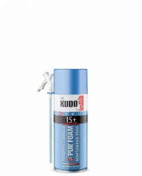 Монтажная пена Kudo Home 15+ бытовая всесезонная (520 мл)