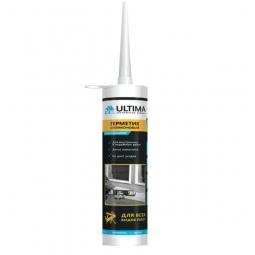 Герметик Ultima силиконовый универсальный белый 280 мл