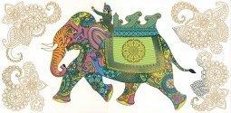 Декор Слон Kerama Marazzi Ранголи AC242\11000 30х60