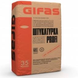Штукатурка Gifas Start Profi гипсовая 35 кг
