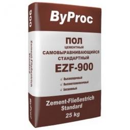Цементный пол ByProc самовыравнивающийся стандартный EZF-900 25 кг