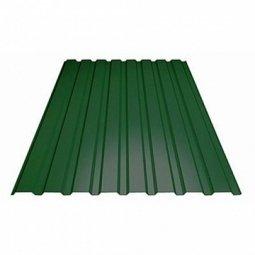 Профнастил С-8 (RAL 6005) зеленый мох 1200х2000х0.5