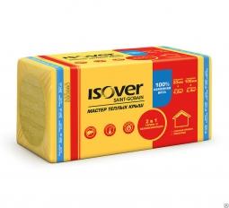 Минераловатный утеплитель Isover Мастер Теплых Крыш 1000х600х50 мм /8шт