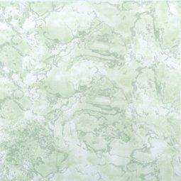 Плитка для пола Сокол Жемчуг PERL7 зеленая глянцевая 33х33