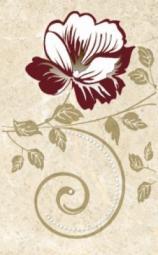 Декор Нефрит-керамика Грато 04-01-1-09-03-23-420-1 40x25 Бежевый