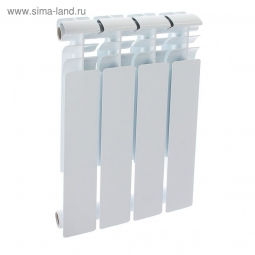 Радиатор биметаллический Oasis 004 500/80 4 секции 0.5 кВт