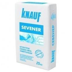 Штукатурная клеевая смесь Knauf Севенер 25 кг