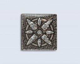 Декор Орнамент Универсальные вставки для пола Персей Platinum 3 6.7x6.7