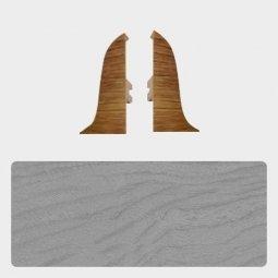 Заглушка торцевая левая и правая (блистер 2 шт.) Т-пласт 036 Дуб Серый