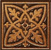 Декор Freelite Универсальные вставки для пола Лиссабон Шоколад 6x6