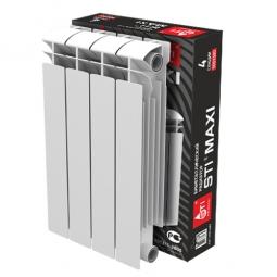 Радиатор биметаллический Sti MAXI 500-100 4 секц.