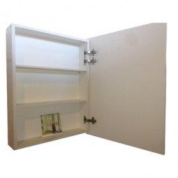 Шкаф-зеркало Comforty Диана 60 Белый