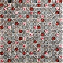 Мозаика Bonаparte Sweet красная глянцевая 30x30