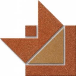 Бордюр Estima Сountry Triangolo CT 02, CT 04 10x10